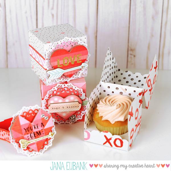 Jana Eubank - Studio 5 - Cupcake Box 1 600