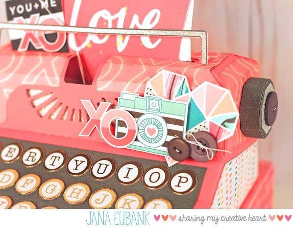 Jana Eubank - Studio 5 - Typewriter Box 3 600