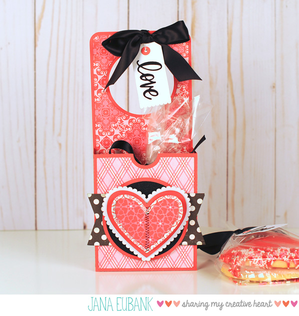 Jana Eubank - Studio 5 - Valentine Cookie Door Hanger Box 1 600