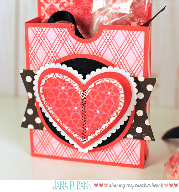 Jana Eubank Studio 5 Valentine Cookie Door Hanger Box 2 600