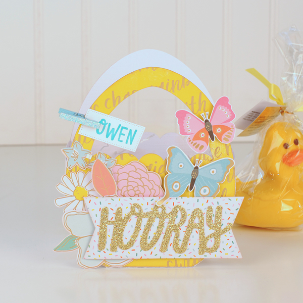Jana Eubank - American Crafts - Dear Lizzy - Stay Colorful - Easter Egg Favor Bags 2 600