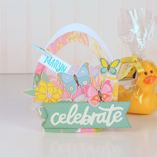 Jana Eubank - American Crafts - Dear Lizzy - Stay Colorful - Easter Egg Favor Bags 4 600