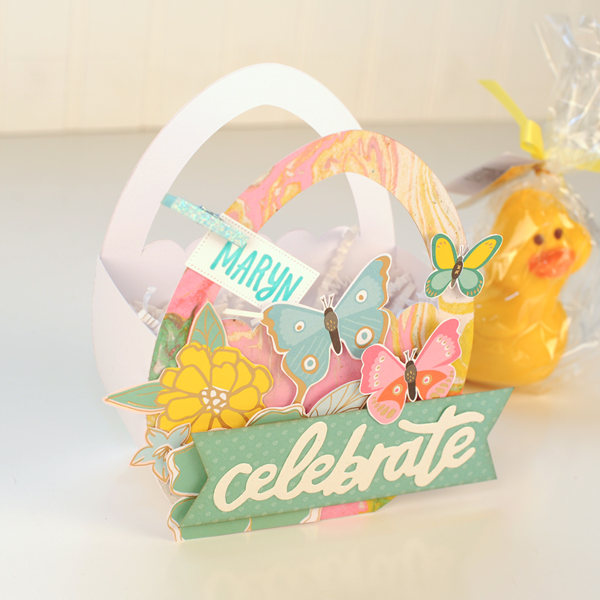 Jana Eubank - American Crafts - Dear Lizzy - Stay Colorful - Easter Egg Favor Bags 5 600