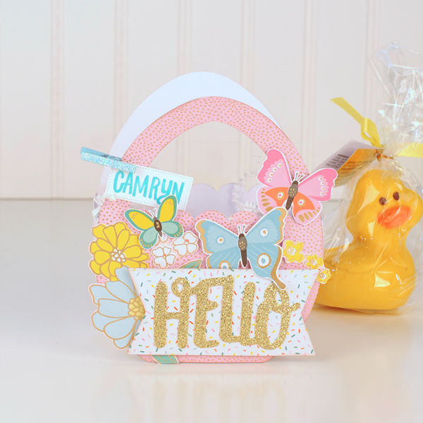 Jana Eubank - American Crafts - Dear Lizzy - Stay Colorful - Easter Egg Favor Bags 6 600
