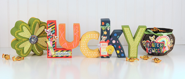 Jana Eubank - American Crafts - Shimelle - Box of Crayons - Lucky Letters 1 600