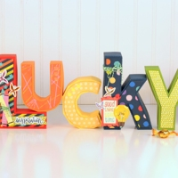 American Crafts: LUCKY Letters
