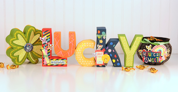 Jana Eubank - American Crafts - Shimelle - Box of Crayons - Lucky Letters 2 600