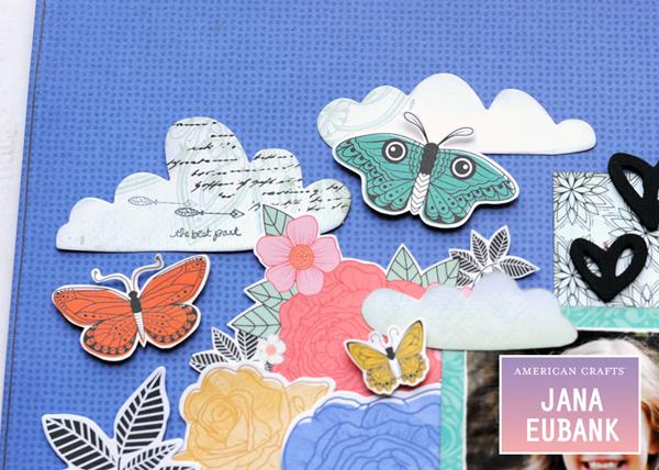 Jana Eubank - American Crafts - Vicki Boutin - All the Good Things - Life Is Good Scrapbook Page 4 600