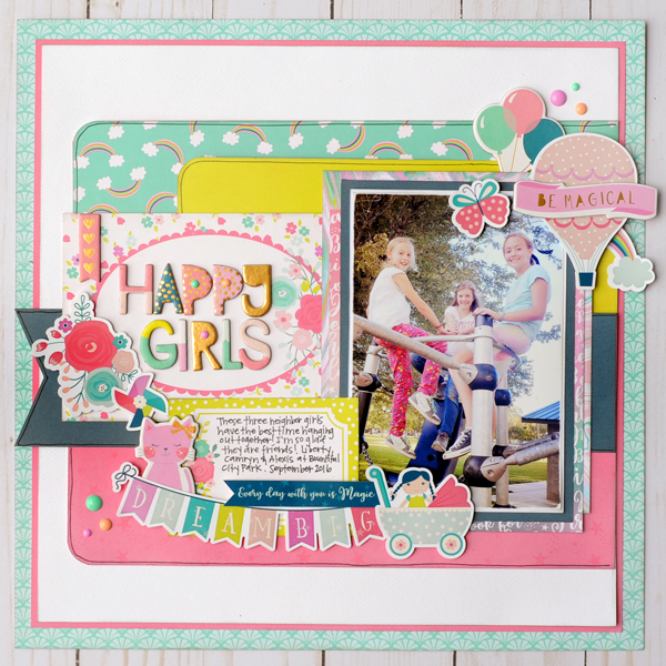 Jana Eubank Echo Park Paper Imagine That Girl Happy Girls 1 600