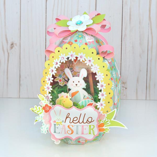 Jana Eubank Hello Easter Paper Sugar Egg 1 600 e
