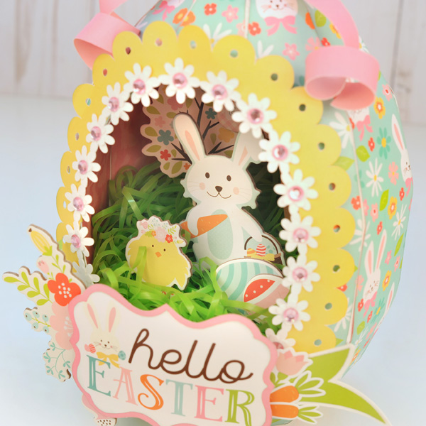 Jana Eubank Hello Easter Paper Sugar Egg 3 600