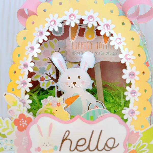 Jana Eubank Hello Easter Paper Sugar Egg 5 600