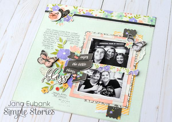 Jana Eubank Simple Stories Bliss Enjoy Little Things 5 600