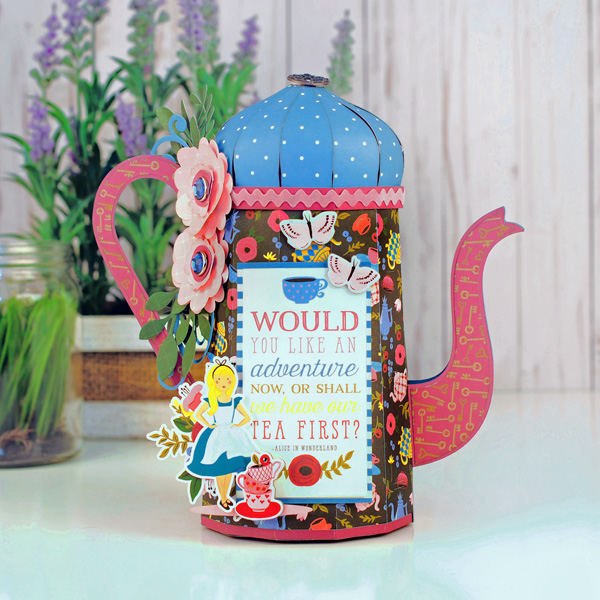 Jana Eubank Echo Park Paper Alice In Wonderland Tea Kettle 1 600