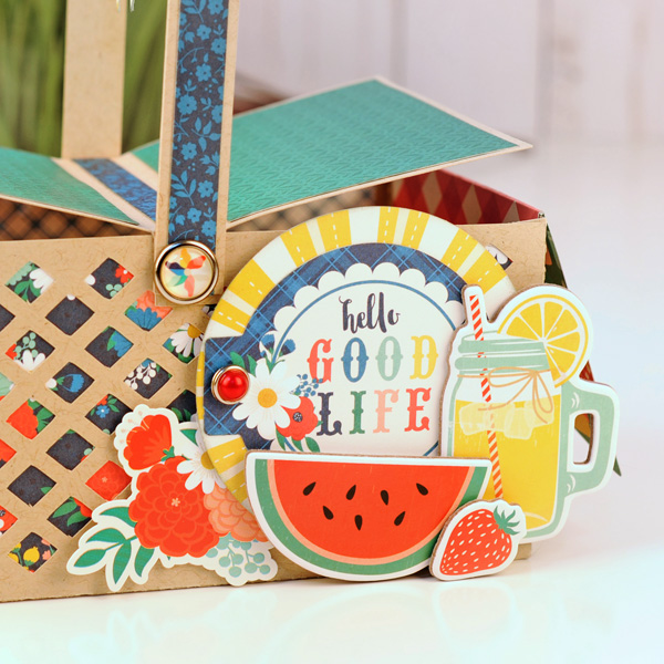 Jana Eubank Echo Park Paper Good Day Sunshine Picnic Basket 3 600