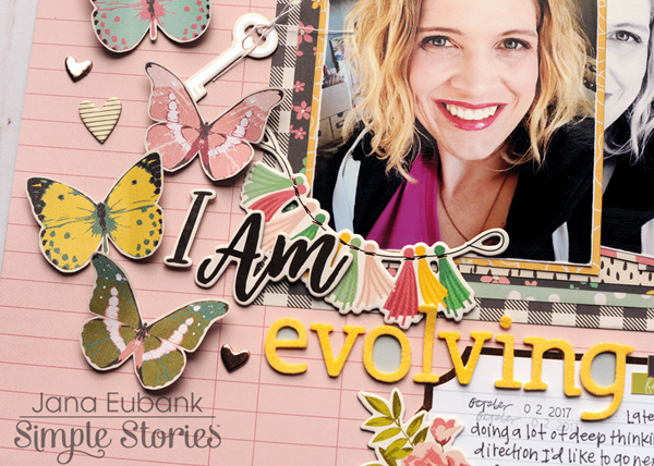 Jana Eubank Simple Stories I Am Evolvoing 4 600