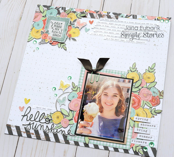 Jana Eubank Simple Stories Welcome Spring Hello Sunshine 5 600