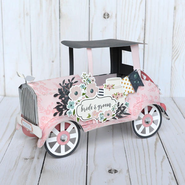 Jana Eubank Echo Park Paper Just Married Vintage Car 1 600