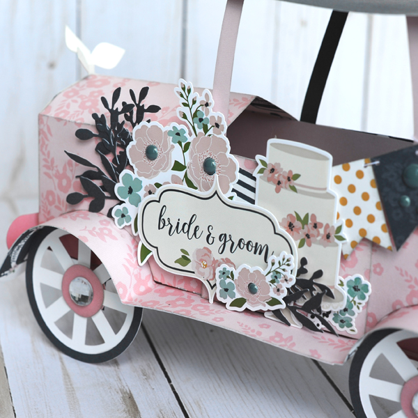 Jana Eubank Echo Park Paper Just Married Vintage Car 4 600