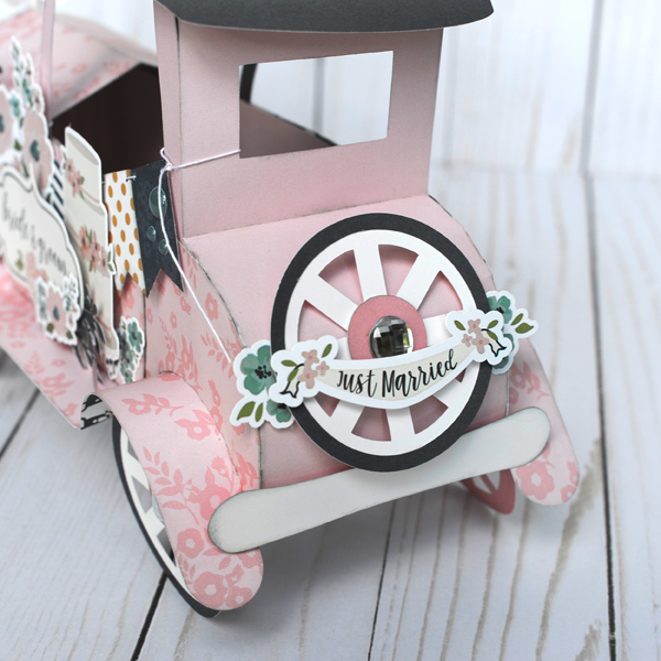 Jana Eubank Echo Park Paper Just Married Vintage Car 5 600