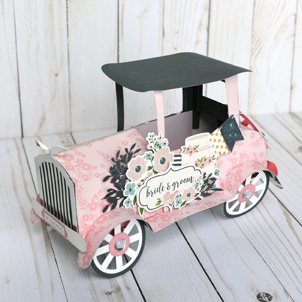 Jana Eubank Echo Park Paper Just Married Vintage Car 6 600