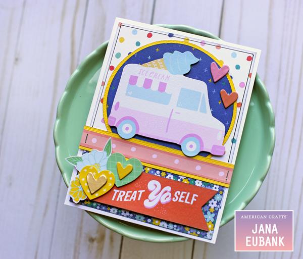 Jana Eubank American Crafts Dear Lizzy Stay Colorful Birthday Cards 2 600