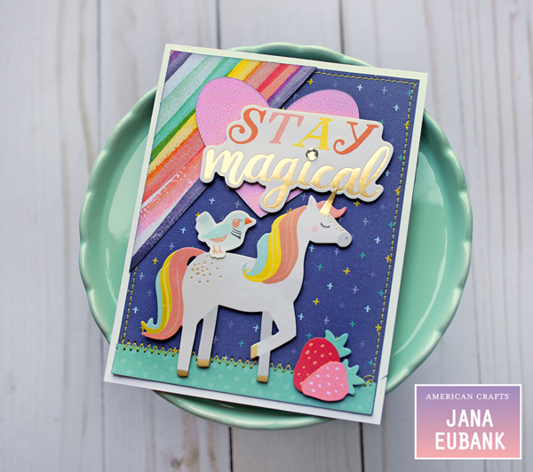 Jana Eubank American Crafts Dear Lizzy Stay Colorful Birthday Cards 3 600