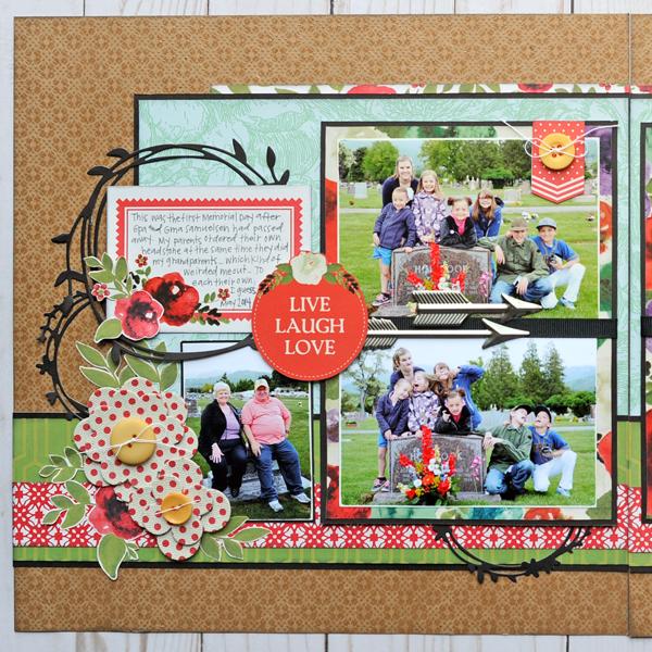 Jana Eubank DCWV Garden Charm Remember 2 600