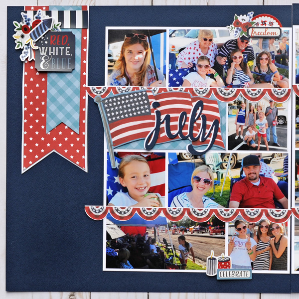 Jana Eubank Echo Park Celebrate American July Layout 2 600