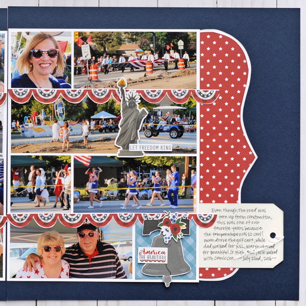 Jana Eubank Echo Park Celebrate American July Layout 3 600