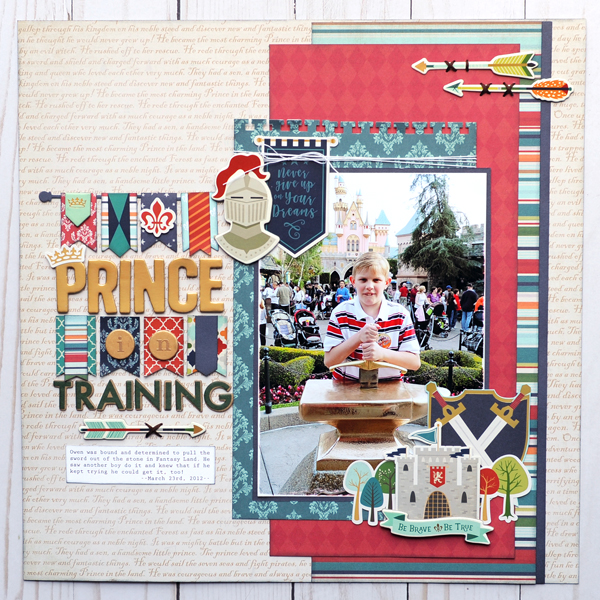 Jana Eubank Echo Park Paper Once Upon A Time Prince Prince in Training 1 600