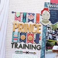 Echo Park Paper: Once Upon a Time Prince collection