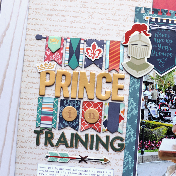 Jana Eubank Echo Park Paper Once Upon A Time Prince Prince in Training 3 600