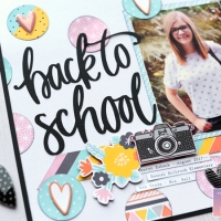 American Crafts: Back to School with Shine On