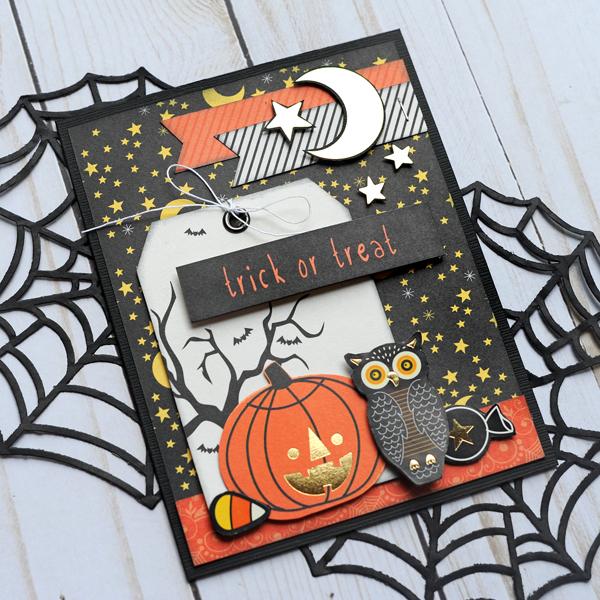 Jana Eubank DCWV Halloween Spirit Cards 2 600