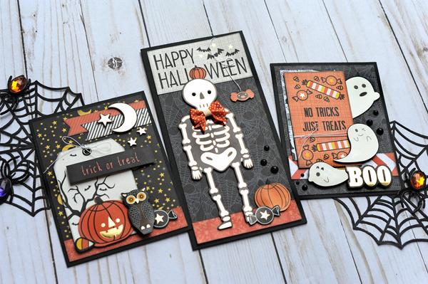 Jana Eubank DCWV Halloween Spirit Cards 5 600