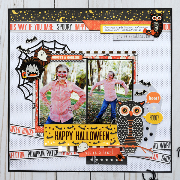 Jana Eubank DCWV Halloween Spirit Layout 1 600