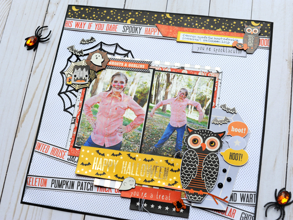 Jana Eubank DCWV Halloween Spirit Layout 5 600