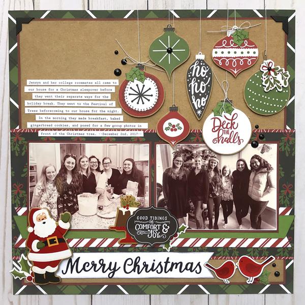 Jana Eubank Echo Park Paper Celebrate Christmas Layout 1 600