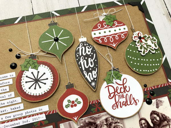 Jana Eubank Echo Park Paper Celebrate Christmas Layout 2 600