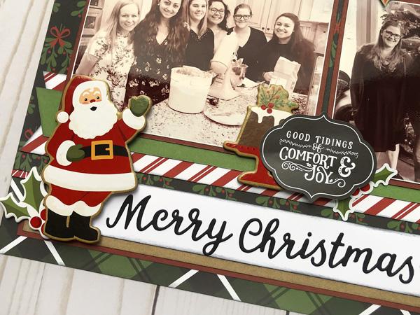 Jana Eubank Echo Park Paper Celebrate Christmas Layout 3 600