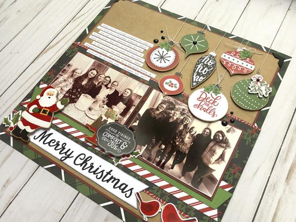 Jana Eubank Echo Park Paper Celebrate Christmas Layout 5 600
