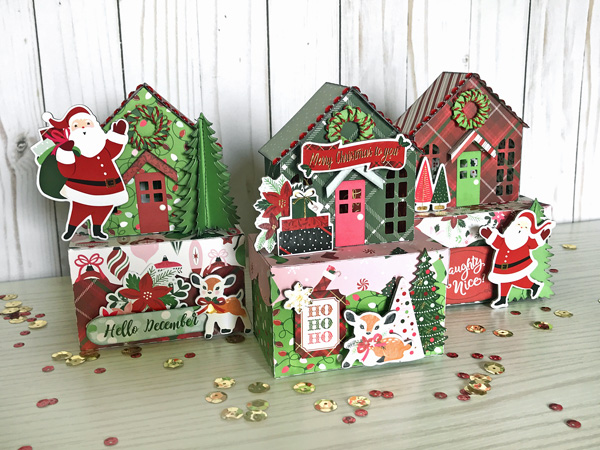 Jana Eubank Echo Park Paper Merry & Bright Christmas Houses 1 600