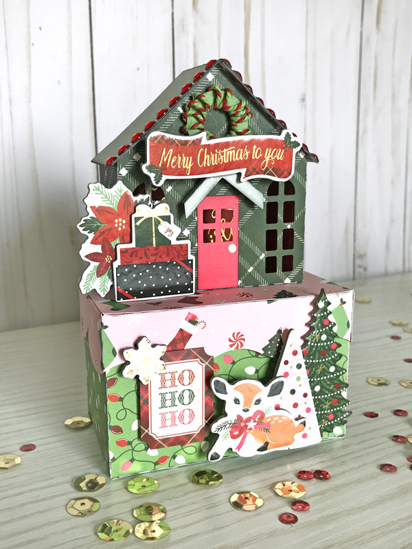 Jana Eubank Echo Park Paper Merry & Bright Christmas Houses 2 600