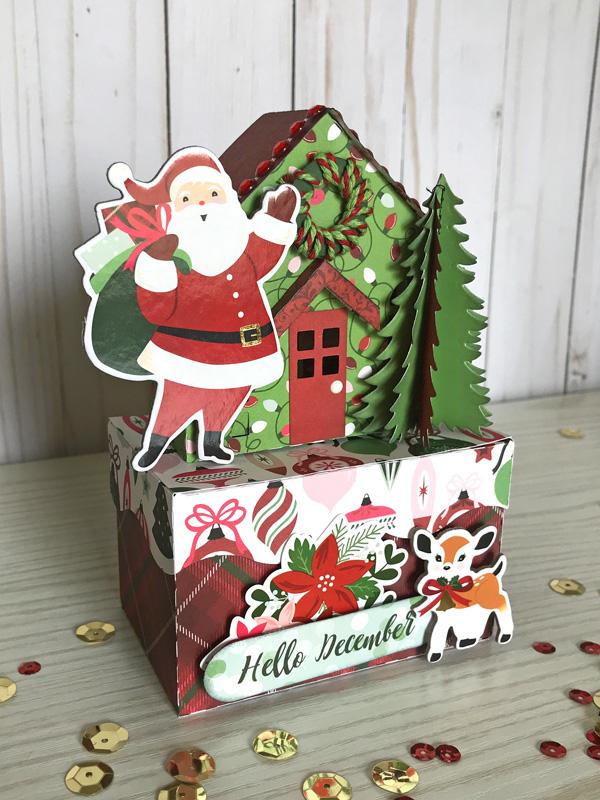 Jana Eubank Echo Park Paper Merry & Bright Christmas Houses 3 600
