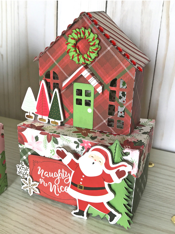 Jana Eubank Echo Park Paper Merry & Bright Christmas Houses 4b 600