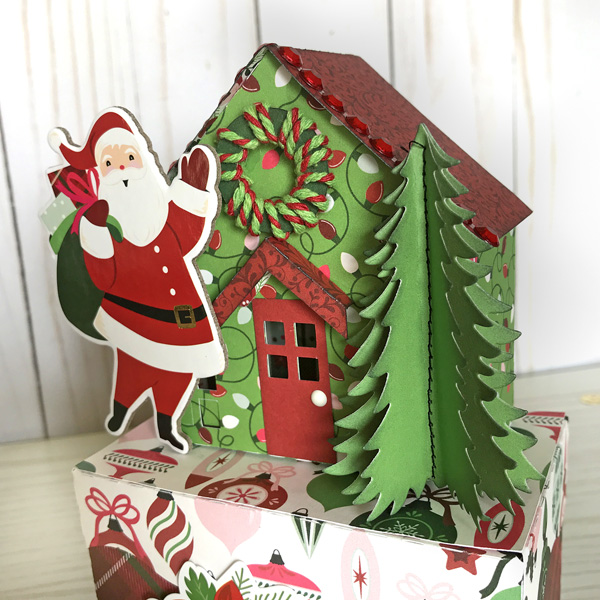 Jana Eubank Echo Park Paper Merry & Bright Christmas Houses 6 O600