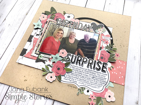 Jana Eubank Simple Stories Bloom Birthday Surprise Layout 5 600