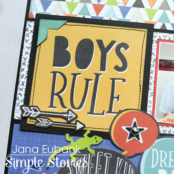 Jana Eubank Simple Stories Lil Dude Boys Rule Layout 2 600