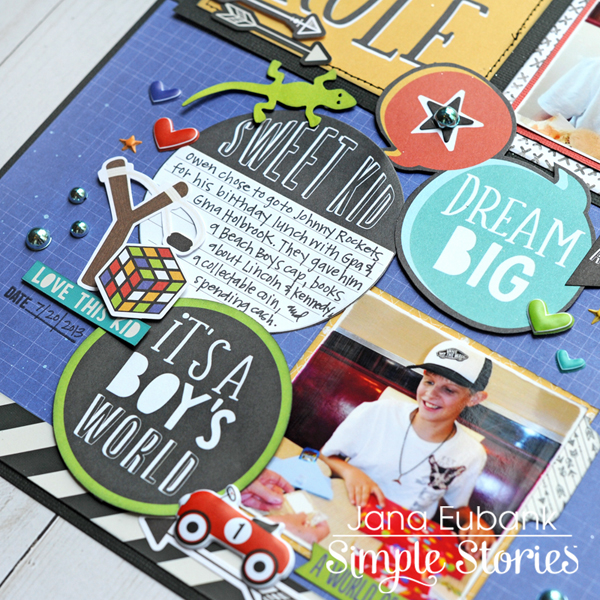Jana Eubank Simple Stories Lil Dude Boys Rule Layout 4 600